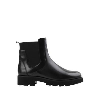 スティーブ マデン STEVE MADDEN ショートブーツ ブラック 6 革 / 紡績繊維 ショートブーツ