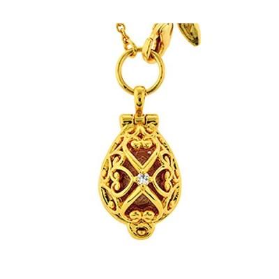 エポラージュ(EPAULLAGE) アロマタイプ 女性用 磁気ネックレス (05ドロップ, ゴールド)