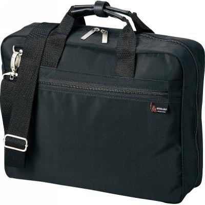 【送料無料】パソコン対応 ソフトビジネスバッグ ブラック H2030−10【代引不可】【ギフト館】