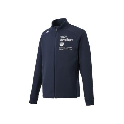 デサント DESCENTE メンズ ダブルフェイススウェット スタンドジャケット スポーツ トレーニング フルジップ ジャケット
