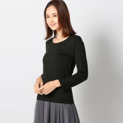 ミューズ MEW'S ヒートウォームチェーンロングTシャツ (クロ)