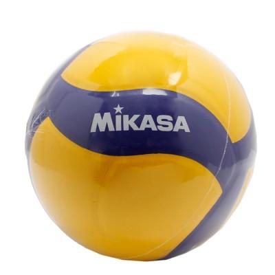 MIKASAボール 5号球 (一般用・大学用・高校用) レクリエーションV355W 自主練 練習イエロー×ブルー