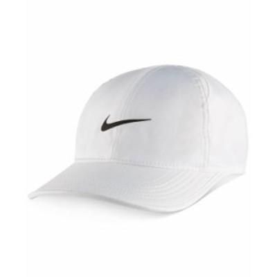ナイキ メンズ 帽子 アクセサリー Men's FeatherLight Cap White
