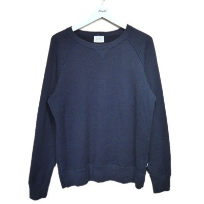 THE 「Sweat Crew neck Pullover」プルオーバースウェット ネイビー サイズ:M (名古屋栄店) 211001