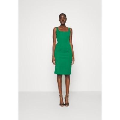 バナナ リバブリック レディース ワンピース トップス NECK SHEATH SOLID - Day dress - luscious green luscious green