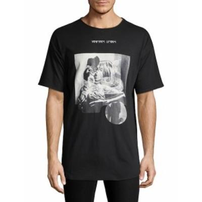 デンイムバイシキイム メンズ トップス Tシャツ ポロシャツ Baggy Printed Cotton T-Shirt