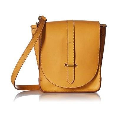 Ilana Crossbody Messenger Bag, Yellow, One Size【並行輸入品】