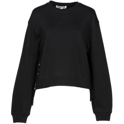 マックキュー アレキサンダー・マックイーン McQ Alexander McQueen スウェットシャツ ブラック M コットン 100% / ポリ