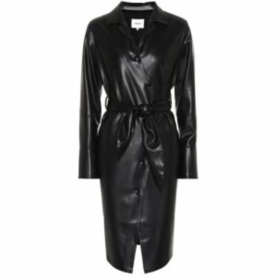ナヌシュカ Nanushka レディース ワンピース ワンピース・ドレス Ailsa faux leather wrap dress Black