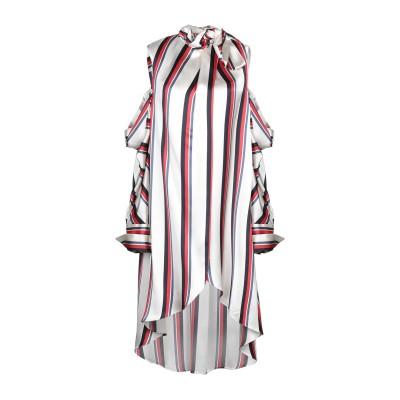 MONSE ミニワンピース&ドレス ホワイト 2 レーヨン 100% ミニワンピース&ドレス