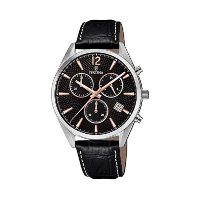Festina Mens Chronograph Quartz Watch with Leather Strap F6860/7 並行輸入品