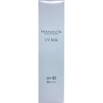 マナビス UVミルク 30g (日焼け止め用乳液) SPF40 PA++++