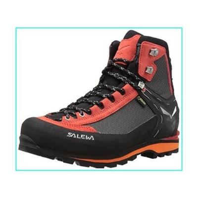【新品】Salewa Men's Crow GTX Mountaineering Boot, Black/Papavero, 11.5(並行輸入品)