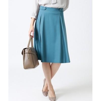 NEWYORKER / キュプラモダールサテン 知的フレアスカート WOMEN スカート > スカート