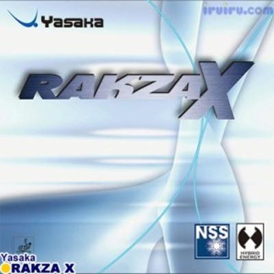 [送料無料 14時までのご注文で当日発送] 卓球 ラバー YASAKA(ヤサカ) ラクザ X