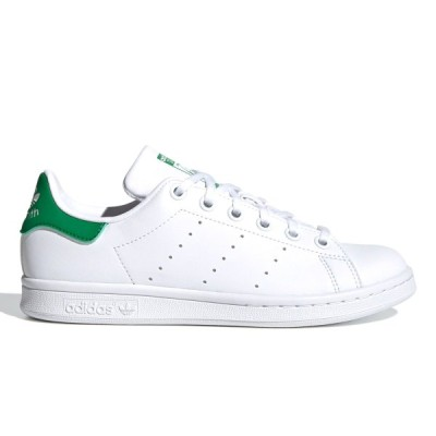 adidas STAN SMITH J アディダス スタンスミス J FTWR WHITE/FTWR WHITE/GREEN fx7519