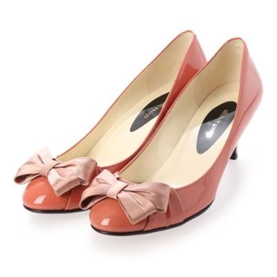 シューズラウンジ shoes lounge パンプス 99CL55014PI (ピンク)