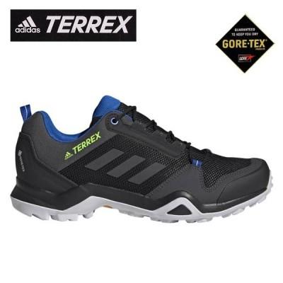 アディダス メンズ 透湿防水 ゴアテックス スニーカー TERREX AX3 GTX EF3311 GORETEX adidas コアブラック/ダークグレーヘザー テレックス