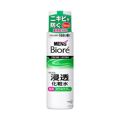 メンズビオレ 浸透化粧水 薬用アクネケア 180ml