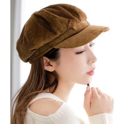 帽子 キャスケット コーデュロイキャスケット/550109