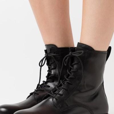 タマリス レディース 靴 シューズ Lace-up ankle boots - black