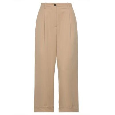 NINE:INTHE:MORNING パンツ キャメル 26 ウール 100% パンツ