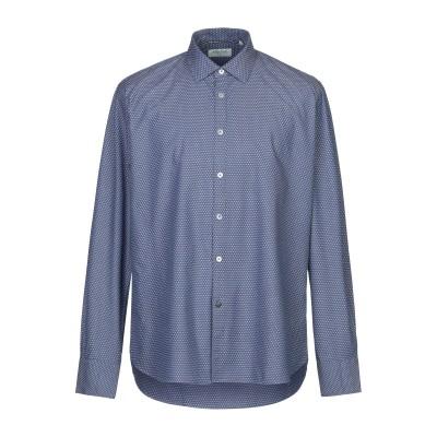 ALLEY DOCKS 963 シャツ ブルーグレー XXL コットン 100% シャツ
