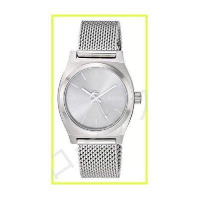Nixon Medium Time Teller Milanese All Silver One Size 並行輸入品