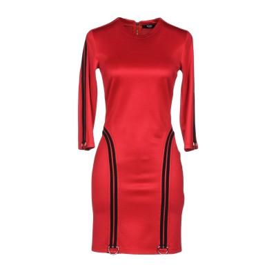VERSUS VERSACE ミニワンピース&ドレス レッド 38 84% レーヨン 12% ナイロン 4% ポリウレタン ミニワンピース&ドレス
