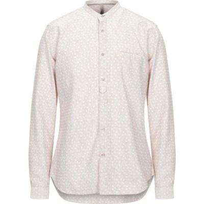 DNL メンズ シャツ トップス Striped Shirt Ivory