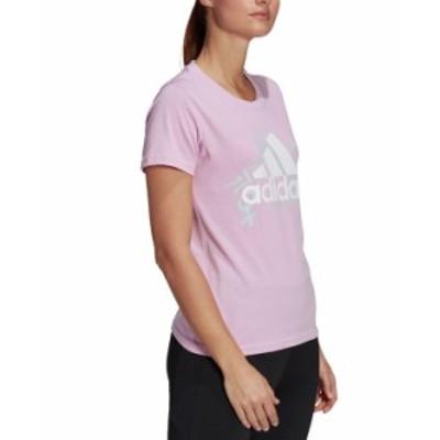 アディダス レディース シャツ トップス Women's AEROREADY Feminine Power Graphic T-Shirt Clear Lilac