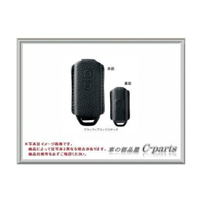 HONDA N-WGN ホンダ エヌワゴン【JH1 JH2】 キーカバー(本革製)【ブラック×ブラックステッチ】[08U08-T6G-010]