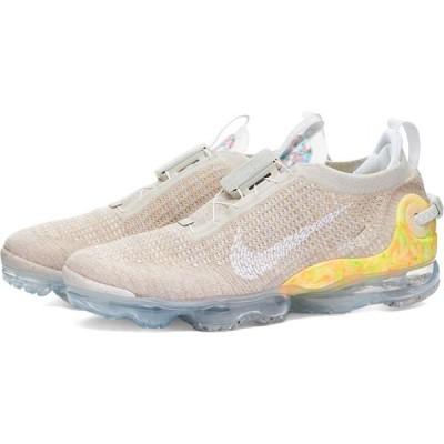 ナイキ Nike メンズ スニーカー シューズ・靴 air vapormax 2020 fk Bone/White/Grey Fog