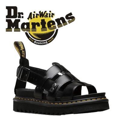 ドクターマーチン テリー サンダル DrMartens BLACK CHARRO 24.0cm UK5 レザー レディース TERRY ゼブリラスコレクション 2352
