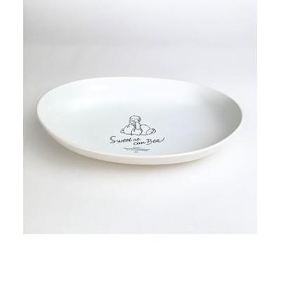 ディズニー プー カリー&パスタ皿 ふんわりプー CR お皿 食器 Disney くまのプーさん クリーム グッズ 日本製  (MCOR)