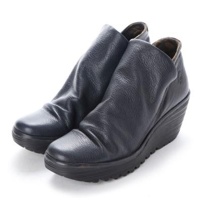 ヨーロッパコンフォートシューズ EU Comfort Shoes FLYLONDON ショートブーツ(500.505) (ネイビー)