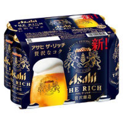 アサヒビール新ジャンル 第3のビール アサヒザリッチ 350ml 1パック(6本入) 缶
