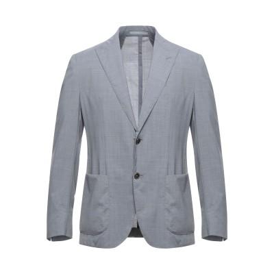イレブンティ ELEVENTY テーラードジャケット グレー 50 ウール 100% テーラードジャケット