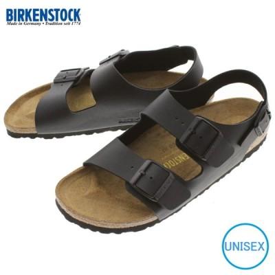 定番 ビルケンシュトック BIRKENSTOCK サンダル ミラノ MILANO ブラック 0034793