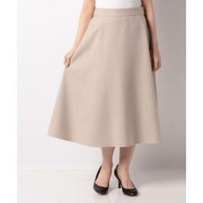 Leilian(レリアン)【my perfect wardrobe】フレアロングスカ-ト