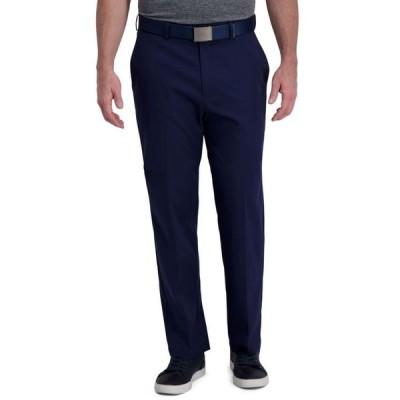 ハガー メンズ カジュアルパンツ ボトムス Cool Right Performance Flex Classic Fit Flat Front Pant