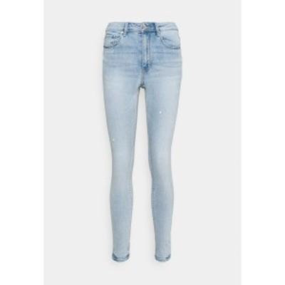ヴェロモーダ レディース デニムパンツ ボトムス VMSOPHIA HIGH RISE - Jeans Skinny Fit - light blue denim light blue denim