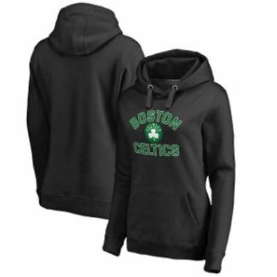 Fanatics Branded ファナティクス ブランド スポーツ用品  Fanatics Branded Boston Celtics Womens Black Plus Sizes Overtime Pullover