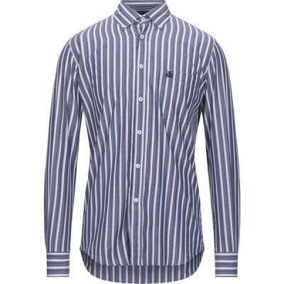 アルマタディメアー ARMATA DI MARE メンズ シャツ トップス Striped Shirt Dark blue