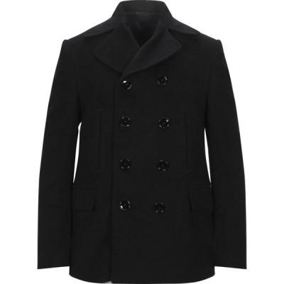 マッシモ ピオンボ MP MASSIMO PIOMBO メンズ コート アウター coat Black