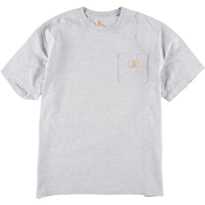 カーハート Carhartt ORIGINAL FIT 半袖 ポケットTシャツ メンズXL /eaa150348