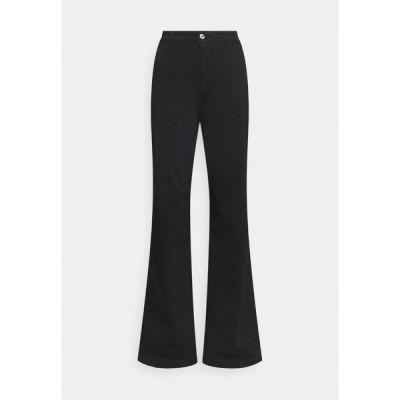 マビ カジュアルパンツ レディース ボトムス SHANON - Trousers - black