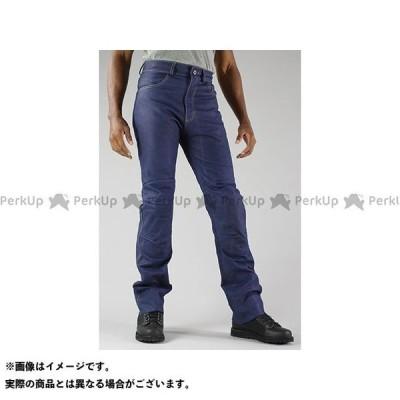 【雑誌付き】コミネ PK-632 プレミアムベントレザージーンズ カラー:インディゴブルー サイズ:WM KOMINE