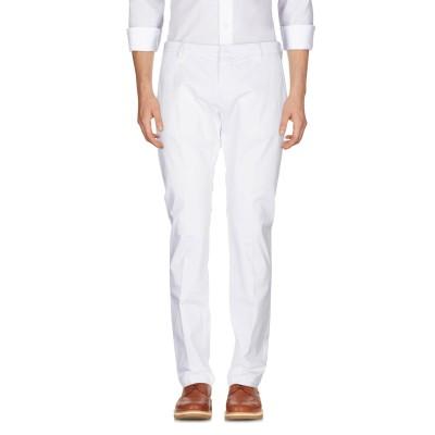 MICHAEL COAL パンツ ホワイト 36 コットン 97% / ポリウレタン 3% パンツ