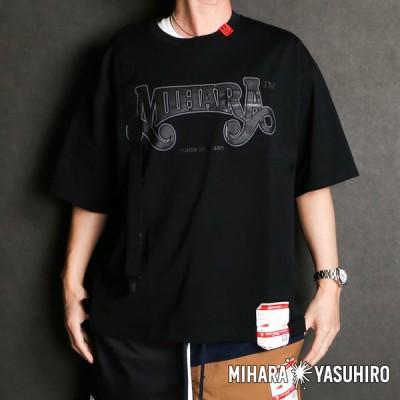 【Maison MIHARA YASUHIRO/メゾン ミハラヤスヒロ】suspendar T-shirt / A06TS662